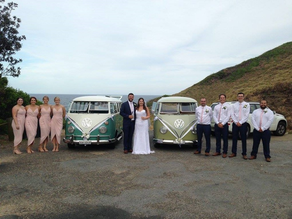 VW Kombi Vans Bridal Cars